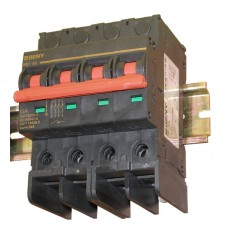 Выключатель автоматический BB1-63 4P 13 1200V DC (13А/1200В постоянного тока,4-х полюсный, неполярный)