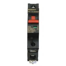 Выключатель автоматический BB1-63 1P 32 300V DC (32А, 300В постоянного тока, однополюсный, неполярный)