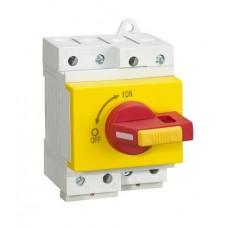 Главный выключатель для массива солнечных батарей BYT.2-32 (4P/32A/1000v) на DIN-рейку
