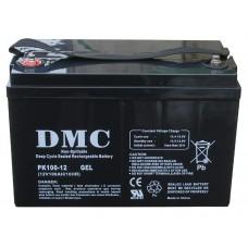 Аккумулятор DMC PK100-12 GEL (100A*ч 12В, GEL) для систем резервного и автономного питания, СЭС