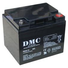 Аккумулятор DMC PK40-12 GEL (40A*ч 12В, GEL) для систем резервного и автономного питания, CЭC