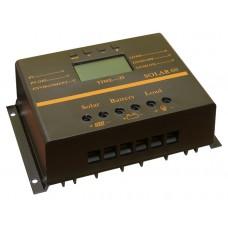 Intelligent PWM контроллер заряда АКБ  SOLAR60 (12/24В 60А USB)