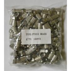 F6 brass (упаковка 100шт)