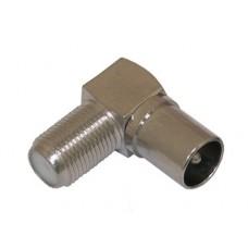 Штекер ТВ угловой IECM-FF (056)