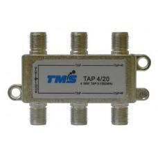 Ответвитель абонентский TAP 4/ 20 TMS