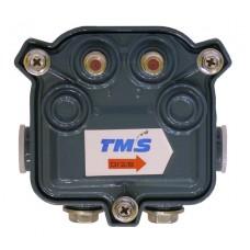 Субмагистральный ответвитель на два отвода по - 8дБ  4712- 8 TMS