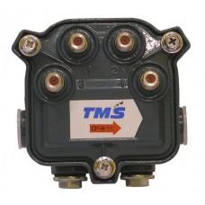 Субмагистральный ответвитель на четыре отвода по -11 дБ  4714-11 TMS