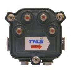 Субмагистральный ответвитель на четыре отвода по -17 дБ  4714-17 TMS