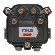 Субмагистральный ответвитель на четыре отвода по -20 дБ  4714-20 TMS