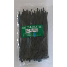 Хомут пластиковый 3.6х150 чёрный
