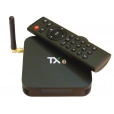 TX-6 4/64G Smart TV Box (AllWinner H6, Android 9.0, Bluetooth 4.2, Wi-Fi 2.4G+5G)