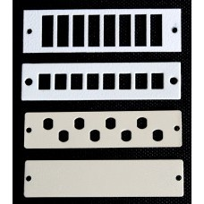 Лицевые планки для оптических панелей