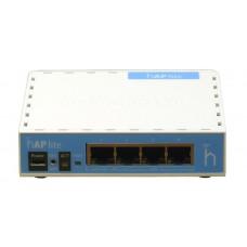 MikroTik hAP lite RB941-2nD (Wi-Fi 300M@2.4G, 2T2R, 4xLAN@100M)
