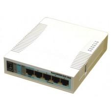 MikroTik RB951G-2HnD (Wi-Fi 300M@2.4G, 2T2R, 5xLAN@1G, USB, под модем 3G/4G, мощность 1Вт)