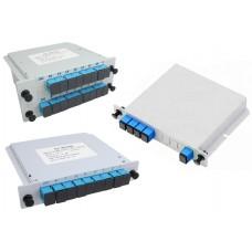 PLC сплиттер 1хN SC/UPC в корпусе