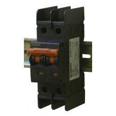 Выключатель автоматический BB1-63 2P 50 600V DC (50А/600В постоянный ток, 2-х полюсный, неполярный)