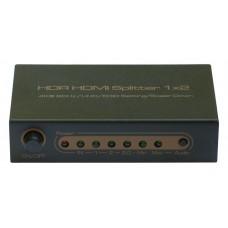 HDMI Splitter 1x2 SP0013M1 (ver 2.0, 4K/UHD@60Hz)